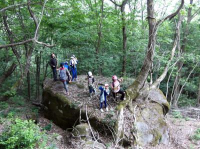 登山岩場2