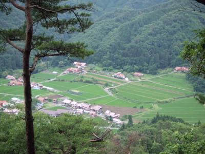 高野山から見る布施一の風景