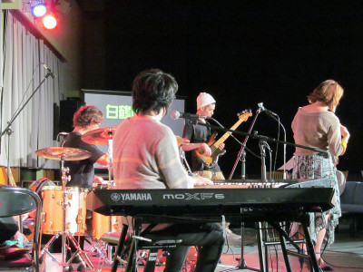 白鶴山+白築純ライブ2015